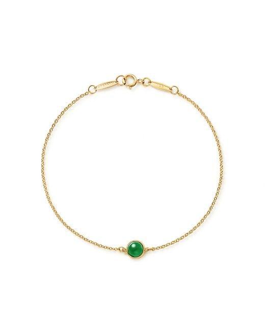 Tiffany & Co - Metallic Cabochon Bracelet - Lyst