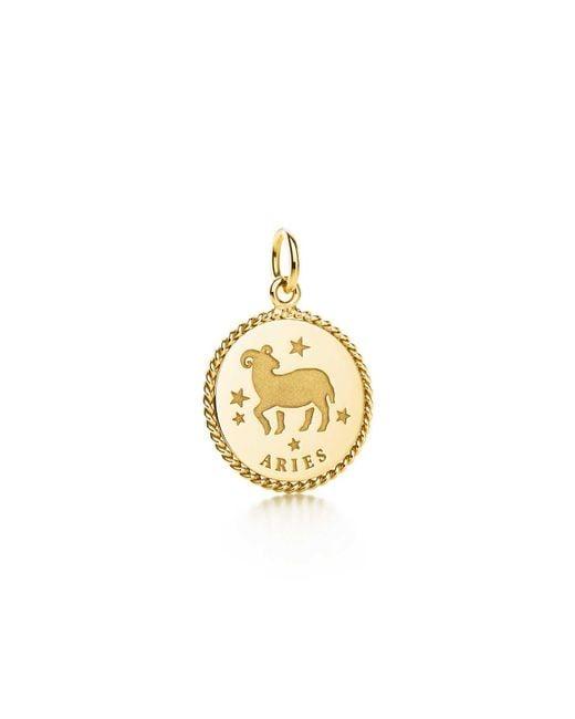 Tiffany & Co | Metallic Aries Charm | Lyst
