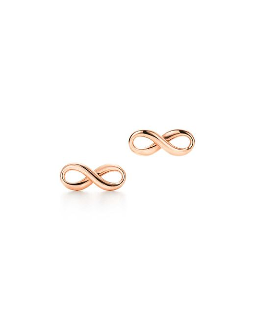 Tiffany & Co - Pink Earrings - Lyst