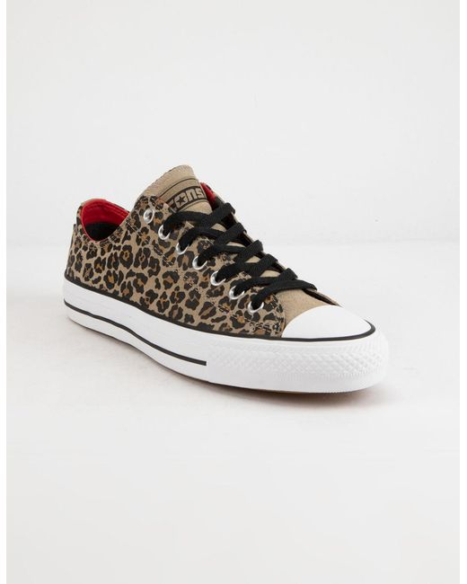 41c71365a8f ... Converse - Multicolor Chuck Taylor All Star Pro Khaki Black   White Low  Top Shoes ...