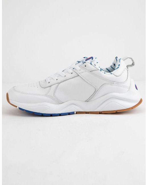 ce45b3d2b0d ... Champion - 93eighteen Big C White Mens Shoes for Men - Lyst ...