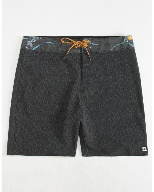 Billabong - Black Sundays Mini Pro Mens Boardshorts for Men - Lyst