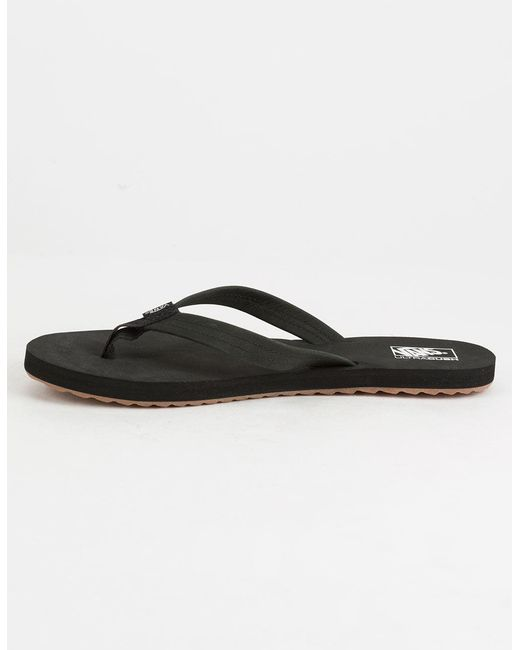 ... Vans - Black Tonsai Womens Sandals - Lyst ... ed259b4597