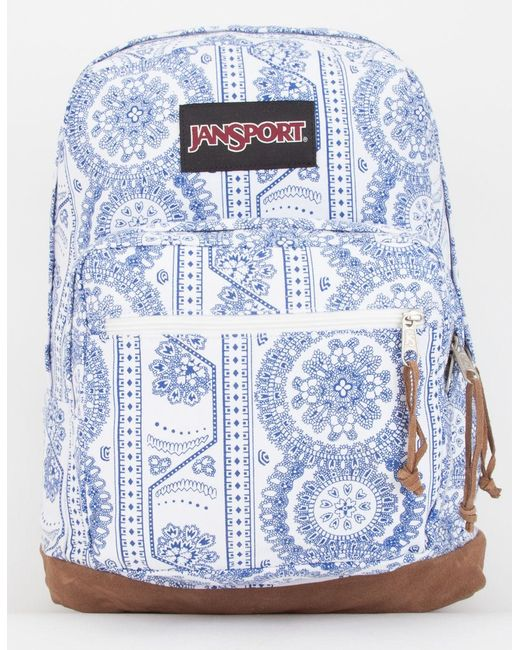 Jansport - Blue Right Pack Swedish Lace Backpack - Lyst