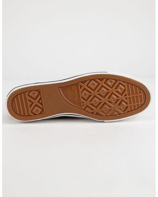 fd8f0718745 ... Converse - Multicolor Chuck Taylor All Star Pro Khaki Black   White Low  Top Shoes -