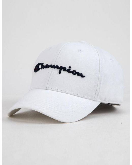 e5a5d6282f9 Lyst - Champion Classic White Mens Dad Hat in White for Men