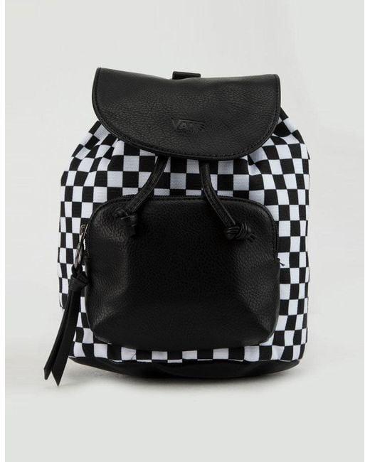 30eb27617f2 Vans - Black Free Spirit Mini Backpack - Lyst ...