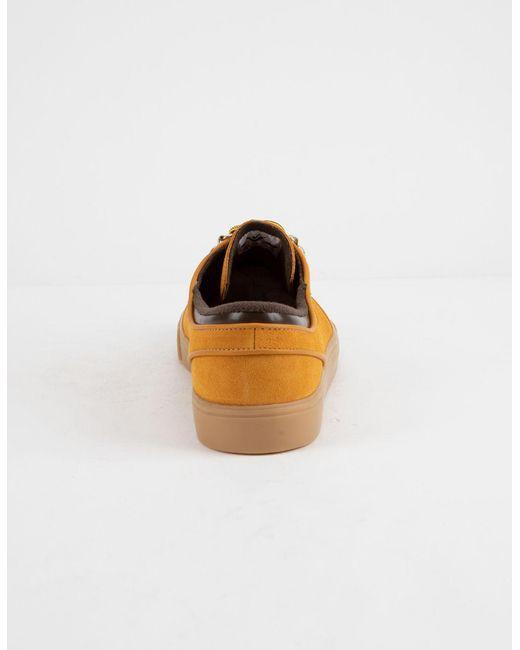 1f3d65c0f768 ... Nike - Zoom Janoski Premium Bronze Gum Light Brown Shoes for Men - Lyst  ...