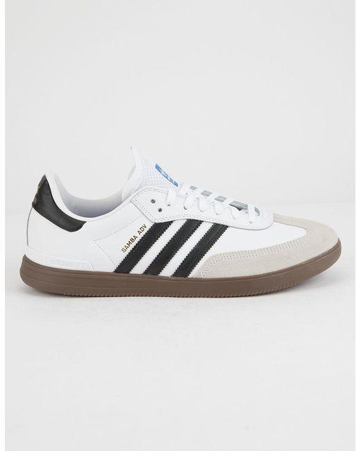 Lyst adidas samba avanzata scarpe in bianco per gli uomini.