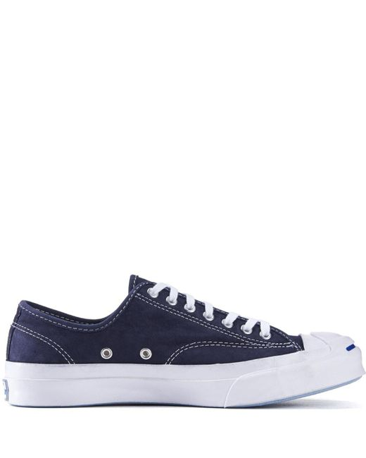 2a31231bf293 ... Converse - Blue Jack Purcell Signature Nubuck Inked Sneakers for Men -  Lyst ...