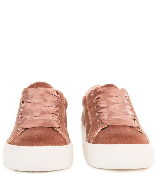 570455fda2c ... Steve Madden - Pink Bertie-v Blush Platform Sneakers - Lyst ...