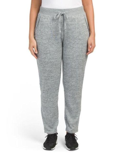 Tj Maxx | Gray Plus Slim Straight Jogger Pants | Lyst