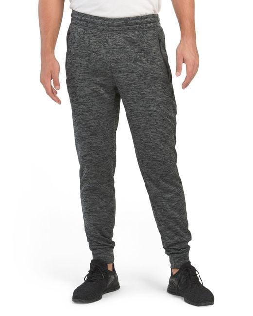 Tj Maxx Gray Poly Tech Fleece Joggers for men