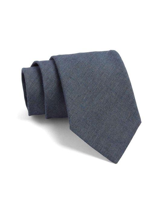 Todd Snyder | Gray Fulton Crosshatch Tie In Blue Grey for Men | Lyst