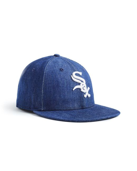 online store aaeb4 55b41 NEW ERA HATS - Blue Mlb Chicago White Sox Cap In Cone Denim for Men ...