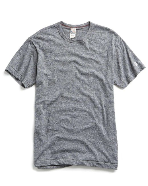 Todd Snyder - Gray Champion Classic T-shirt In Salt And Pepper for Men - Lyst
