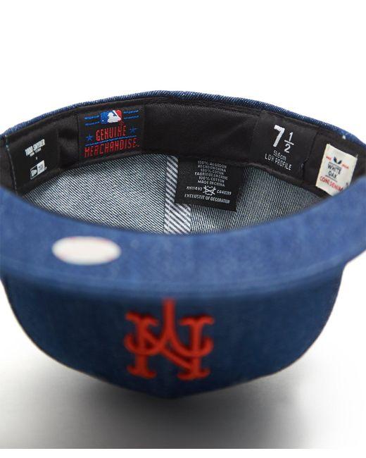 d9df2fe9d66 New Era Hats Mlb New York Mets Cap In Cone Denim in Blue for Men - Lyst