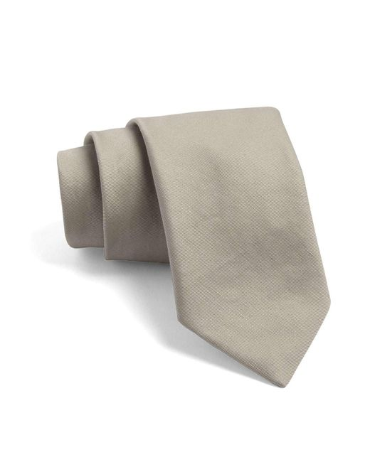 Todd Snyder | Natural Cortlandt Tie In Khaki for Men | Lyst