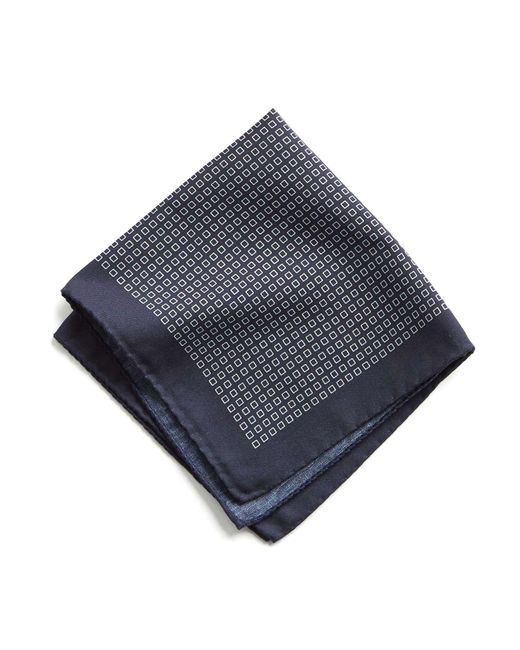 Todd Snyder - Blue Italian Cotton Square Print Pocket Square for Men - Lyst