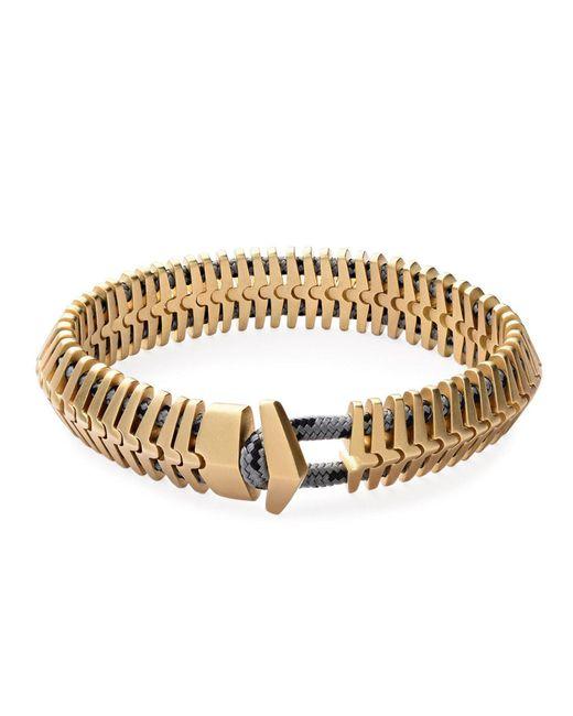 Miansai - Metallic Klink Bracelet - Lyst