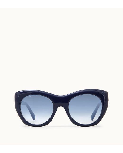 Tod's - Blue Sunglasses - Lyst
