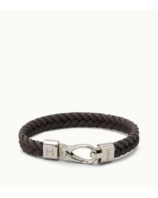 Tod's - Brown Bracelet In Leather for Men - Lyst