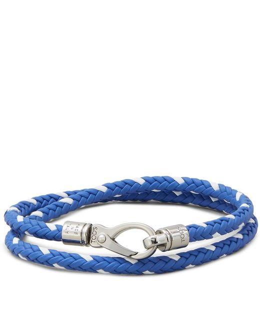 Tod's - Blue Mycolors Bracelet In Leather - Lyst