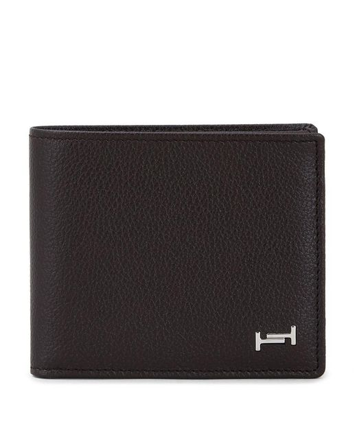 Tod's - Brown Leather Wallet for Men - Lyst