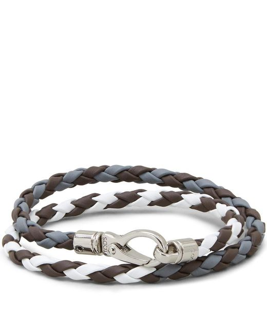 Tod's - Multicolor Mycolors Bracelet In Leather - Lyst