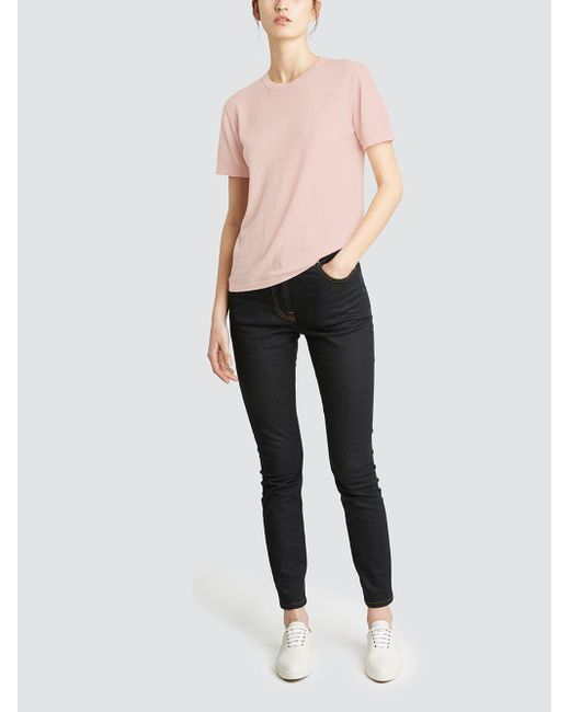 Tomas Maier - Pink Baby Cashmere T-shirt - Lyst