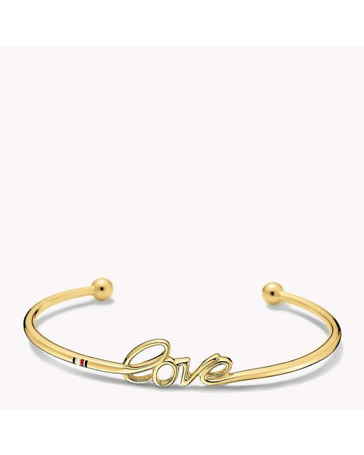 Tommy Hilfiger | Multicolor Love Cuff | Lyst