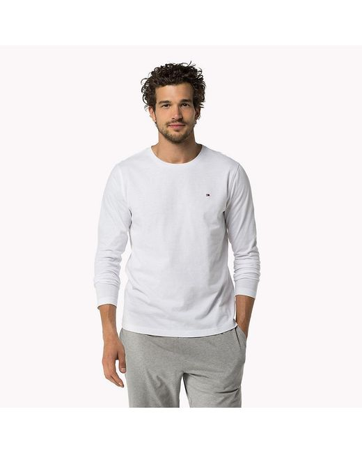 Tommy Hilfiger - White Icon T-shirt for Men - Lyst