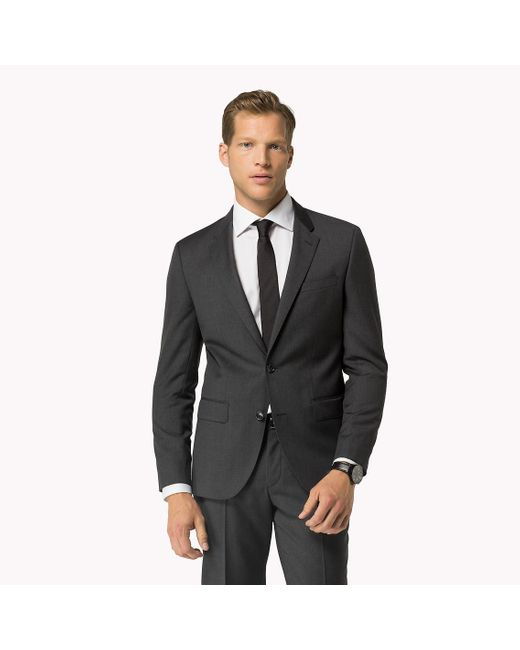 Tommy Hilfiger | Gray Suit Separate Fitted Blazer for Men | Lyst