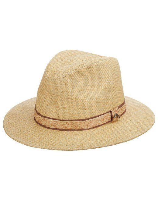 Tommy Bahama - Natural Matte Toyo Safari Hat for Men - Lyst