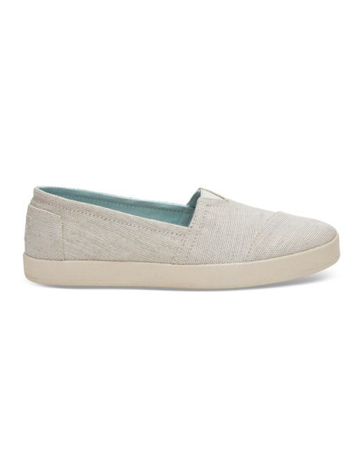 TOMS - Natural Yarn Dye Women's Avalon Slip-ons - Lyst