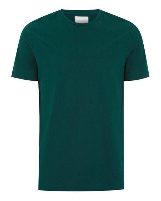 Topman - Green Teal Premium T-shirt for Men - Lyst