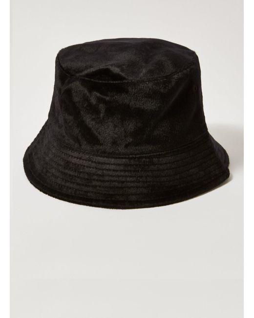 Topman - Black Pony Hair Bucket Hat for Men - Lyst ... 7615be4fc8bc