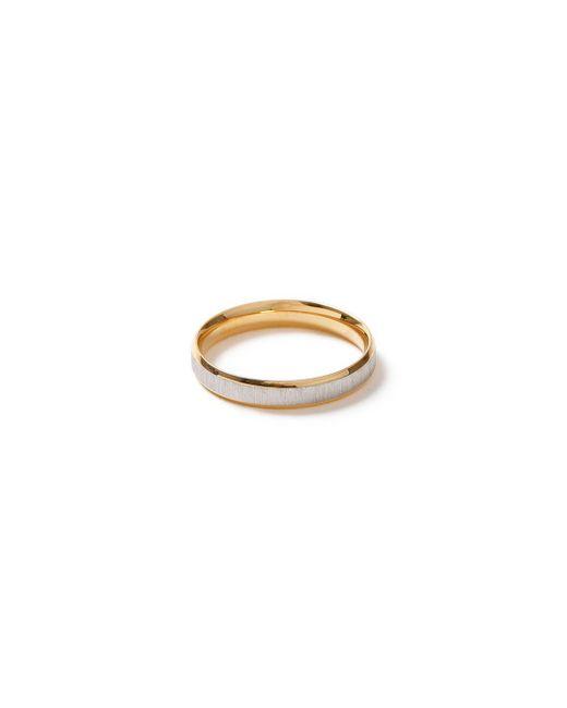 Topman | Metallic Stainless Steel Ring* for Men | Lyst