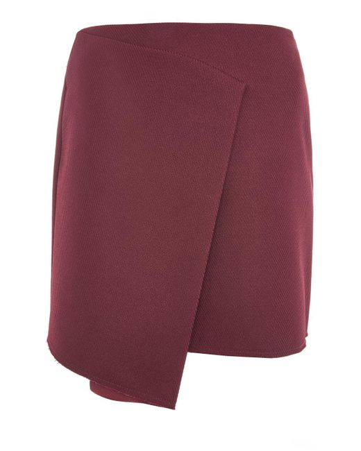TOPSHOP | Multicolor Bonded Raw Skirt | Lyst