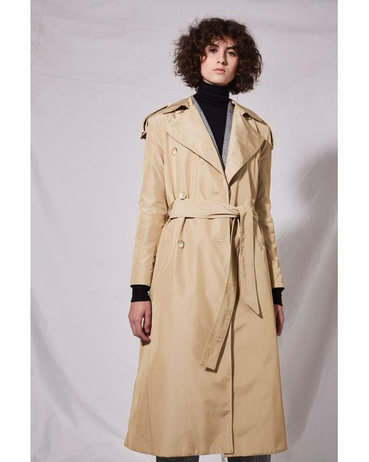 TOPSHOP | Natural Classic Trench Coat By Boutique | Lyst