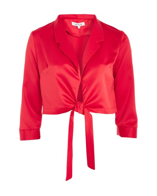 Wyldr | Forever Lost Red Corvette Blouse By | Lyst