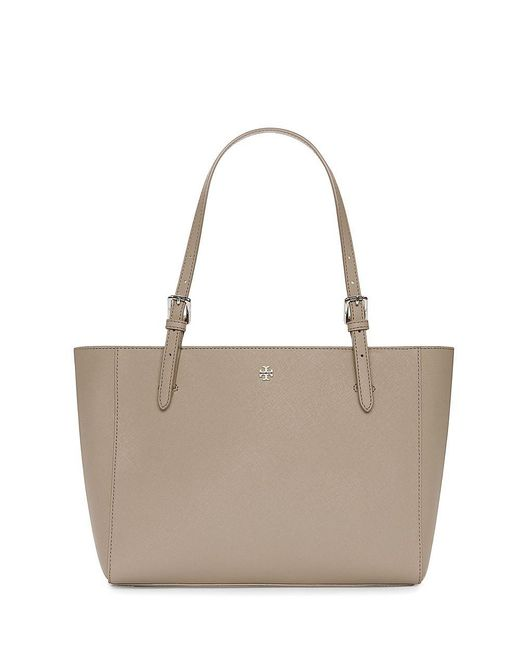 Tory Burch | Gray York Small Buckle Tote | Lyst