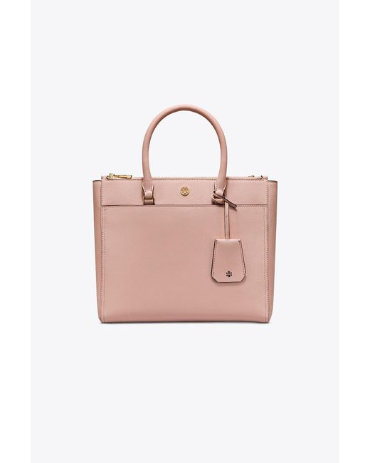 Tory Burch - Pink Robinson Double-zip Tote - Lyst