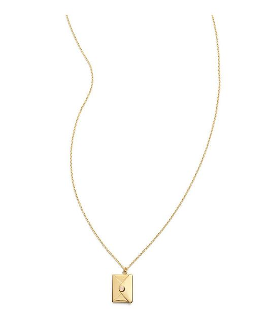 Tory Burch | Metallic Love Relentlessly Necklace | Lyst