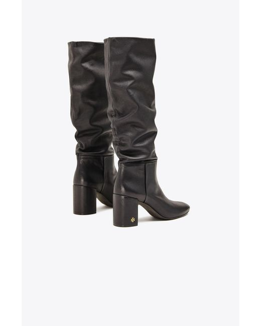 a441693f198 ... Tory Burch - Black Brooke Slouchy Boots - Lyst ...