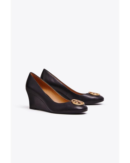 Tory Burch - Black Chelsea Wedges - Lyst