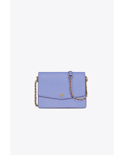 Tory Burch - Blue Robinson Convertible Shoulder Bag - Lyst