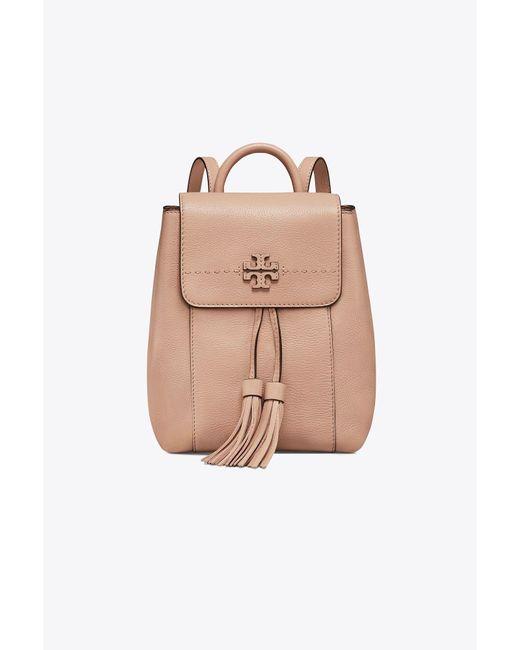 Tory Burch - Natural Mcgraw Backpack - Lyst
