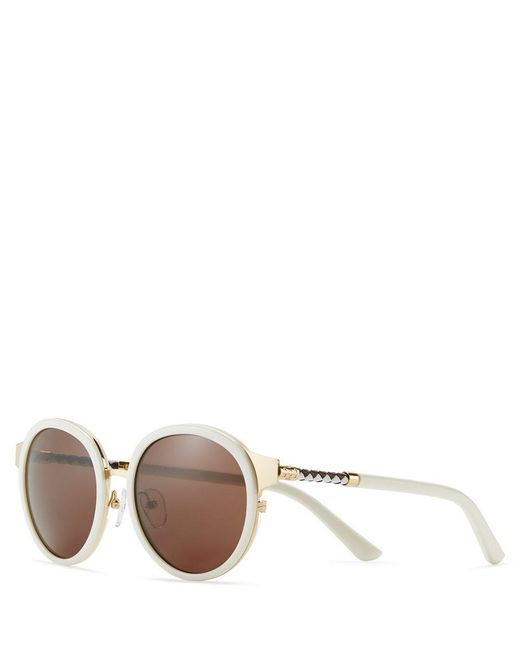 Tory Burch | Metallic Marais Sunglasses | Lyst