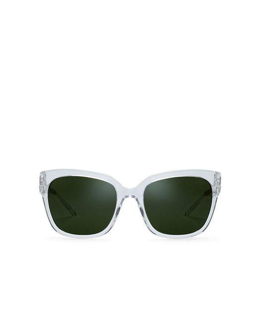 Tory Burch | Green Modern Square Sunglasses | Lyst